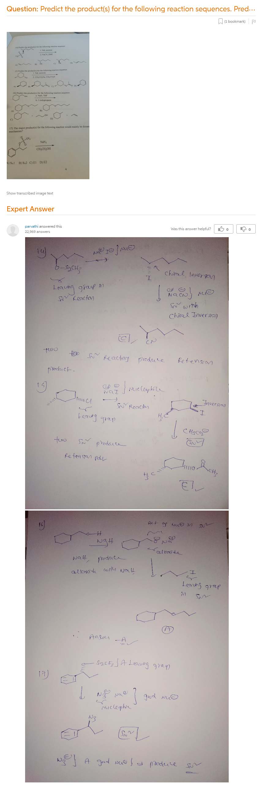 Predict The Product(s) For The Following Reaction Sequences. Predict The  Product(s) For The Following Reaction Sequence. Predict The Product(s) For  The Following Reaction Sequence. The Major Product(s) For The Following  Reaction Would Mainly Be Dictate Mechanism?