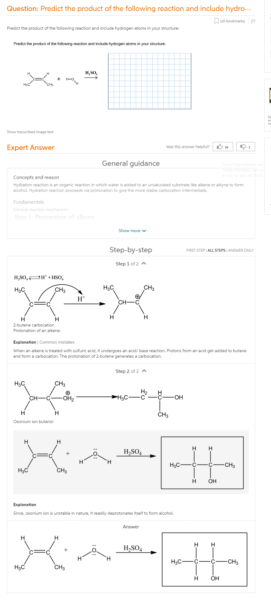 Predict The Products Of The Following Reactions.